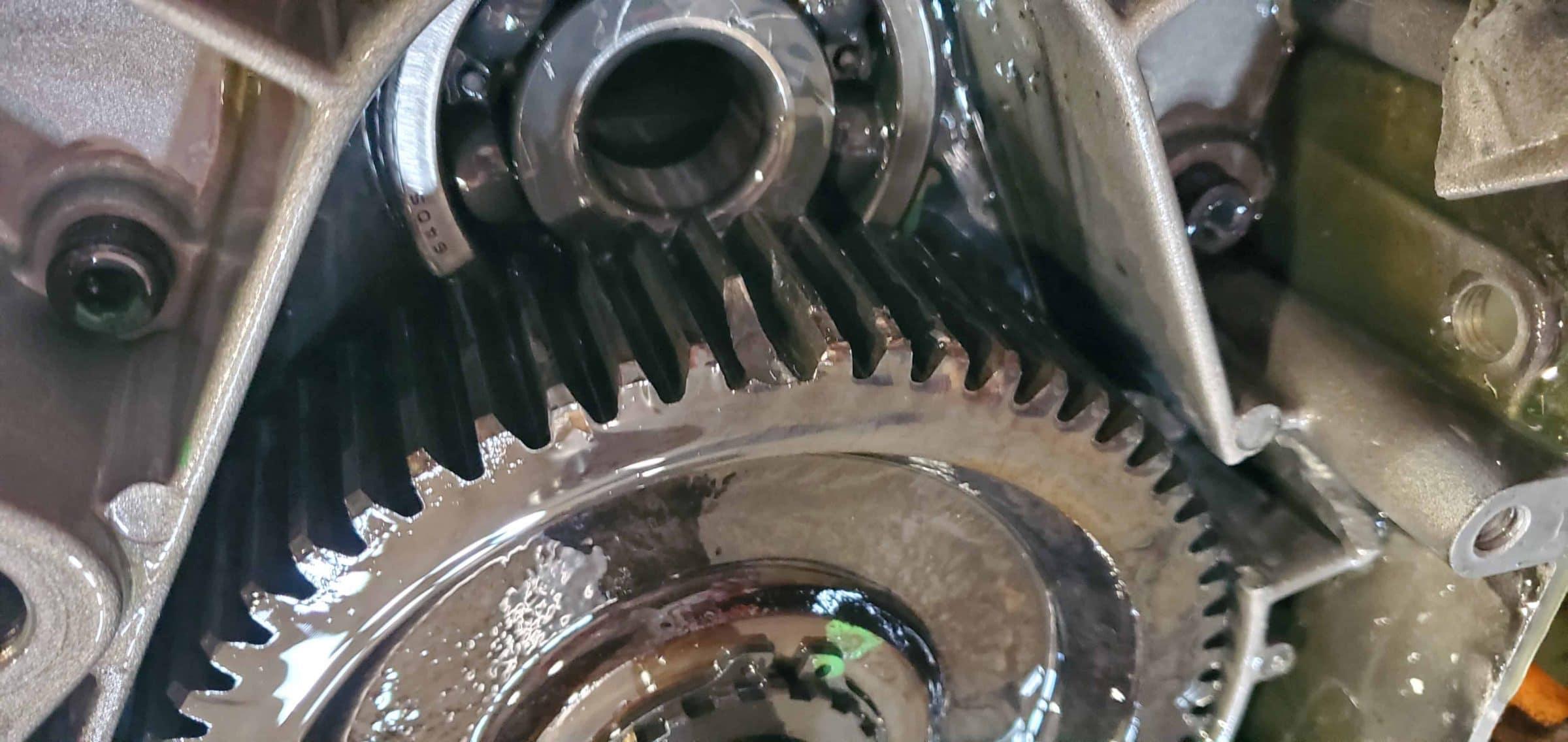 Damaged Gear